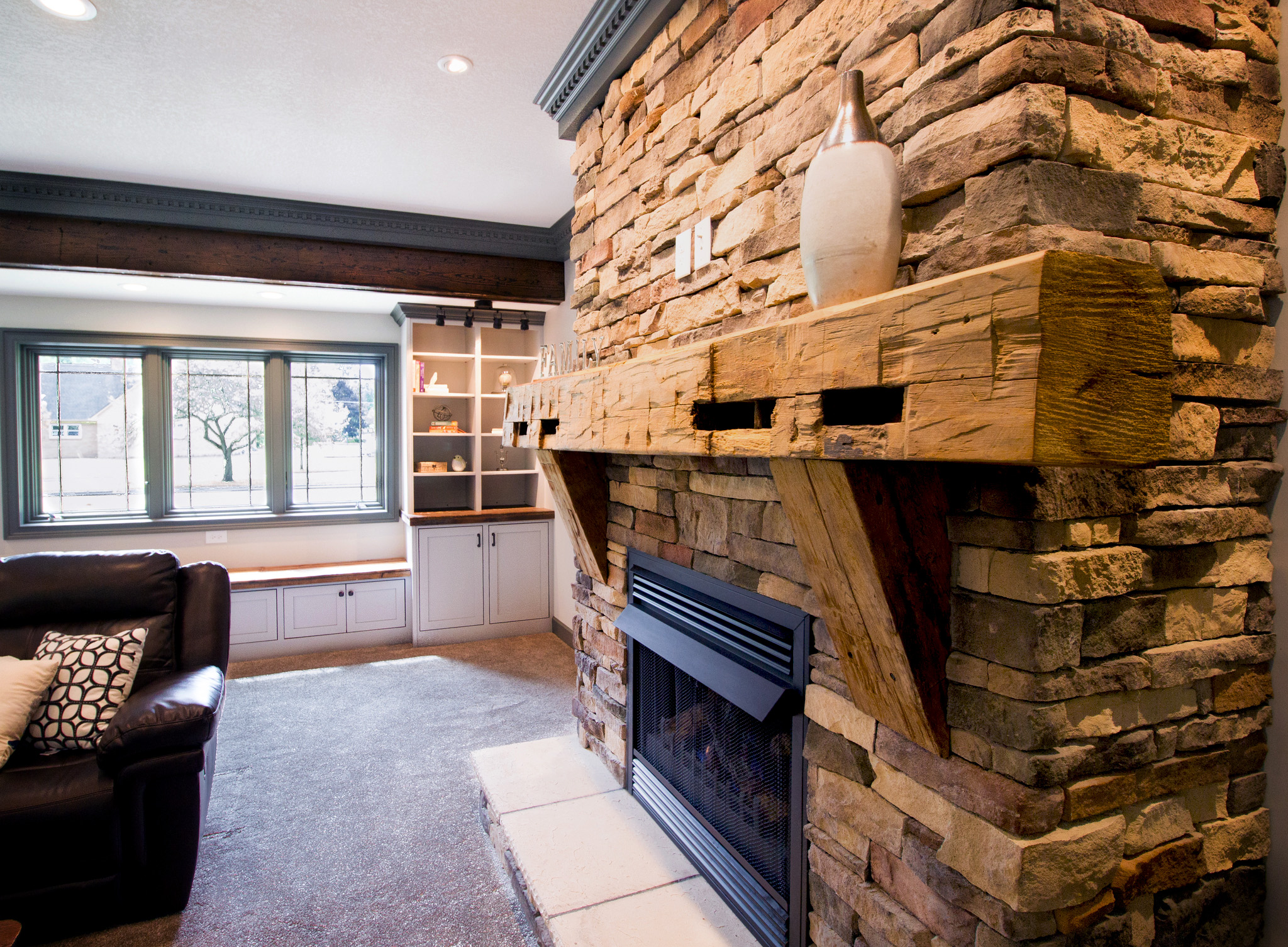 Many Projects Feature Custom Made Cabinets And Shelving To Combine Form With Function Take Your Interior From Drab