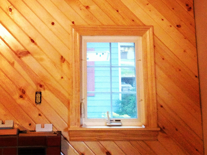 Tongue And Groove Wood Interior. This ...